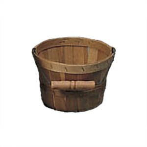 1/8 Peck Basket with Bail Handle by Retail Resource