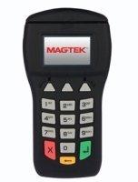 MagTek 30050200 IPAD Pinpad LCD 3 Track Magnetic Stripe Card Reader with USB, 5V, Black