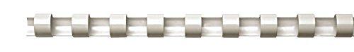 44 opinioni per Fellowes Dorsi Plastici per Rilegatura, 21 Anelli, Passo 9/16, Diametro 8 mm,