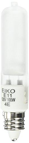 EIKO Q100/MC-120V Frosted T-4 E11 Screw Base Halogen Bulb...