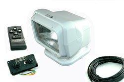 Golight Radioray Flood Light - 80'L X 70'W Beam - Wired & Wireless Controls - White - 12 Volts