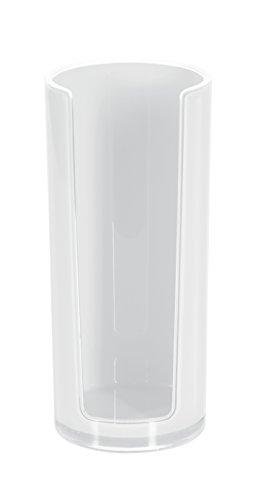 Spirella 10.17763 Sydney-Acryl, Wattepad-Spender, weiß