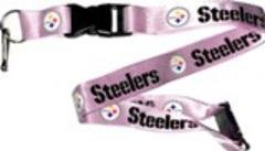 Aminco International NFL-LN-095-12p Lanyard - Pittsburgh Steelers, Pink by Aminco