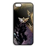 Clear Anime Legend Of Zelda Plastic Phone Skin Casing for iPhone 7(4.7 Inch Screen) - Customize Black iPhone 7(4.7 Inch Screen) Aegis Case Special Gift for (Family Guy Anime Peter)