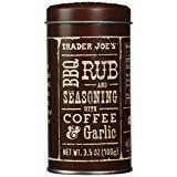 Trader Joe's BBQ Rub and Seasoning with Coffee & Garlic.. (LIMITED EDITION)