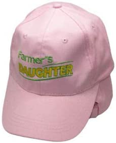 Official Party JumpingLight Farmers Daughter Girl Pink Embroidered Cap Hat RAM for Home All Weather Indoors Outdoors