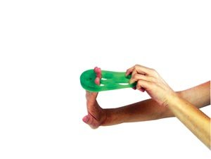 Hygienic/Theraband 11853 Hand X-Trainer, Red, Beginner (Pack of 12)