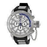 Invicta Signature II Russian Diver Silver Dial Chronograph Mens Watch 7421