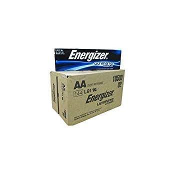 Amazon.com: Energizer 100AA Ultimate Lithium Long Lasting