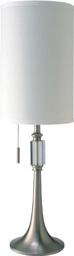 SH Lighting 31182T Steel 100% Crystal Pull Table/Desk Lamp, 9