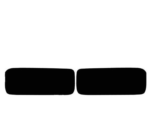 Subject - Fits: Corvette (Z06/ZR1/Grand Sport) Pre-Cut Vinyl Overlay Fog Light Tint (2005 2006 2007 2008 2009 2010 2011 2012 2013) Dark