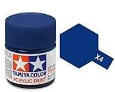Tamiya Models X-4 Mini Acrylic Paint, Blue ()