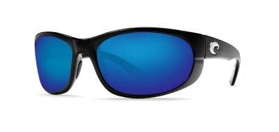 Costa Del Mar Howler Sunglasses, Black, Blue Mirror 400G Lens ()
