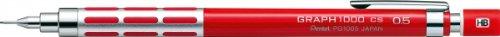 Pentel Graphlet - Portaminas, graf1000CS, color rosa 0,5 mm