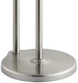 SunnyPoint Free Standing Bathroom Toilet Paper Holder Stand with Reserve, Reserve Area has Enough Space for Jumbo Roll