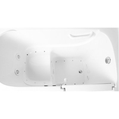 52'' x 30'' Dual Whirlpool Bathtub Configuration: Right by Ariel Bath