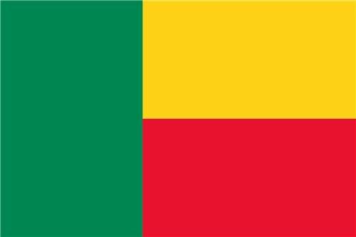 Benin Country Flag Glossy Poster Picture Photo Porto Novo Cotonou