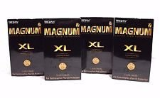 Trojan Lubricated Condom, Magnum XL, 12 Count- (Pack of 4) by Trojan Condoms