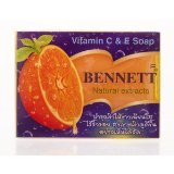 Vitamin C&E Soap New Bennett Natural extracts /Thai Soap 130 G.