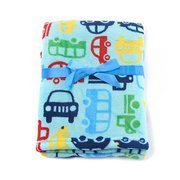 Baby Boy Cars, Trucks and Buses Soft Blanket 30