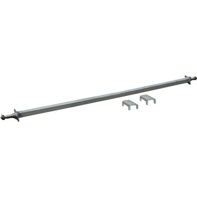- Ultra-Tow 2,500-Lb. Capacity Spring Trailer Axle with Adjustable Spring Mount...
