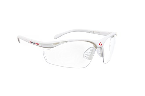 Gearbox Slim Clear Racquetball Eyewear