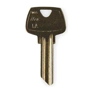Kaba Ilco Sargent 5 Pin LA Nickel Silver Key Blank (1007LA) 10 Pack by Kaba Ilco