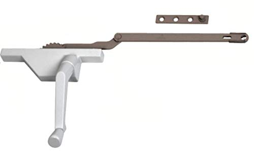 (CRL Truth White Right Hand Rear Mount Dyad Casement Operator)