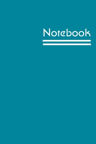 Notebook: Lined Notebook - Medium (6 x 9 inches) - 150 Pages - Blue Cover pdf