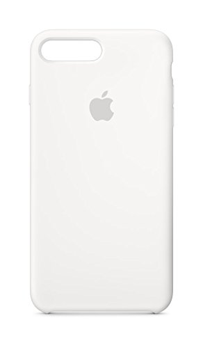 Apple iPhone 8 Plus/7 Plus Silicone Case - White