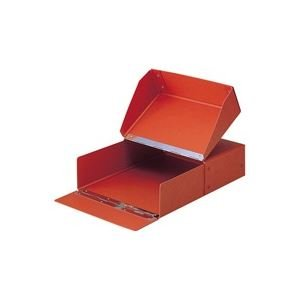 生活日用品 (業務用20セット) 図面箱 T-280-00 A4 茶 B074MM4D4R