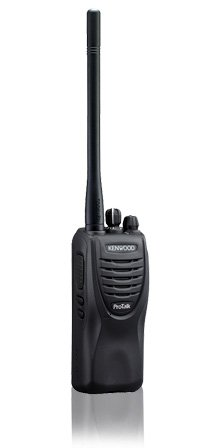 Kenwood ProTalk® TK-2300V4P 4 Channel model VHF 2 Watt Portable Business Radio, 27 VHF Pre-Programmed Frequencies by Kenwood