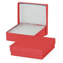 Paper Mart #85 8 X 5-1/2 X 1-1/4 Ruby Red Matte Color Jewelry by Paper Mart (Image #1)