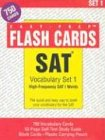 Sat Vocabulary, Set 1: With 750 Flashcards & Study Book