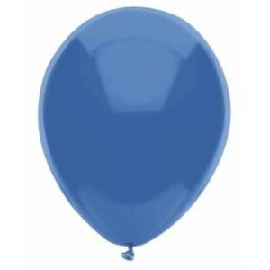 PartyMate 72137 Made in the USA Pastel Color 12-Inch Latex Balloons, 15-Count, Periwinkle