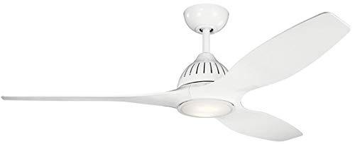 KICHLER 310360WH Jace Ceiling Fan, White