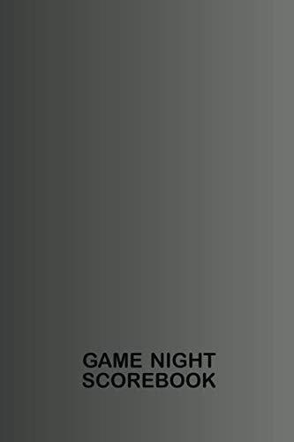 Game Night Scorebook: Black Notebook for Keeping Score (Family Game Night Ultimate Scorebook ()