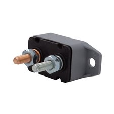12 or 24 Volt 20 Amp Manual Reset Circuit Breaker with Battery Mounting Bracket