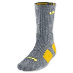 Nike Lebron Elite Basketball High Crew Socks Men (8 12) Large