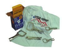 Vise Grip VGP544T 5-Piece Welding Clamp Kit by Irwin Tools