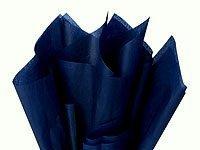 Wedding Tissue Paper - 100 Ct Bulk Tissue Paper Dark Navy Blue 15 Inch X 20 Inch
