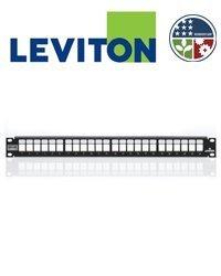- Leviton 4S255-S24 PPANEL 24-PT SHLD + BAR