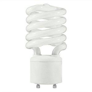TCP #33127SP27K 27 watt Self-Ballasted Spiral Compact Fluorescent Lamp, Bi-Pin (GU24) base, 2700K, 1800 lumens, 10,000hr life, 120 volt, - Spiral 27w