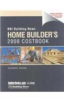 Bni Building News Home Builder's Costbook