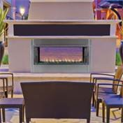 43'' Propane Gas Electronic Ignition Linear Outdoor Vent-Free Fireplace by Superior Fireplaces