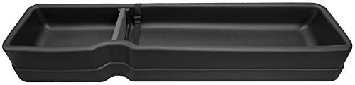 Husky Liners 09281 Black Gearbox Under Seat Storage Box Fits 2015-2019 Ford F-150 SuperCrew Cab, 2017-2019 Ford F-250/F-350 Super Duty Crew Cab - WITHOUT factory storage box