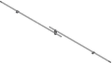 2-Point locking Rod Kit (1 Each)