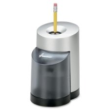 SKILCRAFT 7520-01-241-4229 Electric Pencil Sharpener, 5-3/4 x 3-3/4 x 6-11/32 Inch Height, Black/Silver by Skilcraft