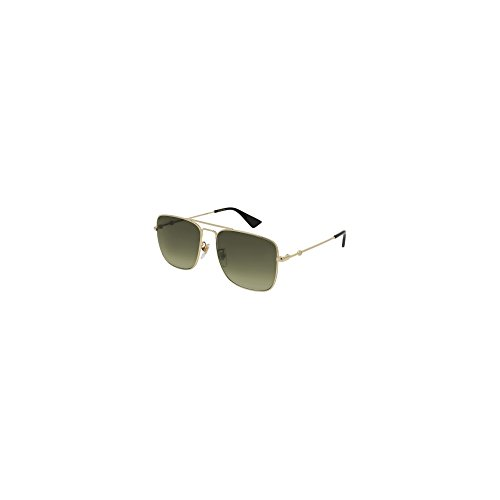 add4f3721f Gucci GG 0108 S- 006 GOLD BROWN Sunglasses - Buy Online in UAE ...