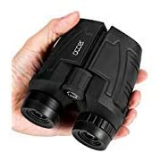 #LightningDeal Occer 12x25 Compact Binoculars with Low Light Night Vision, Large Eyepiece High Power Waterproof Binocular Easy Focus for Outdoor Hunting, Bird Watching, Traveling, Sightseeing Fit for Adults and Kids
